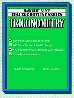 College Outline for Trigonometry 9780156016933