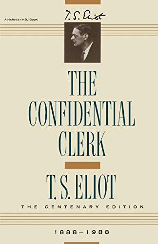 Confidential Clerk 9780156220156