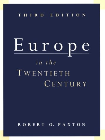 Europe in the 20th Century 9780155037793