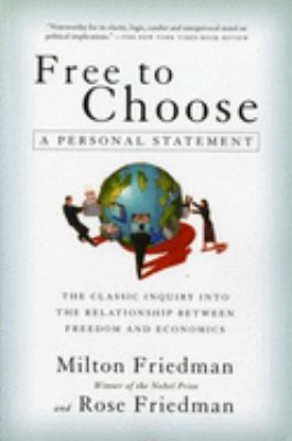Free to Choose: A Personal Statement 9780156334600
