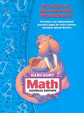 Georgia Harcourt Math: Practice/Homework Workbook, Grade 3 9780153495410
