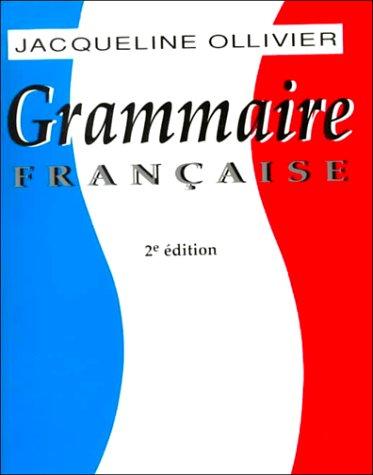 Grammaire Franc'aise 9780155006614