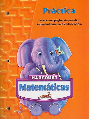Harcourt Matematicas Practica, Grado K 9780153411298