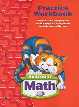 Harcourt Math Practice Workbook, Grade 2 9780153364747