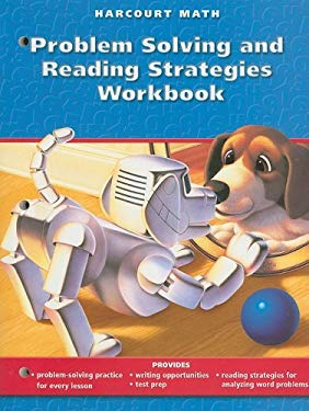 Harcourt Math Problem Solving and Reading Strategies Workbook, Grade 3 9780153208270
