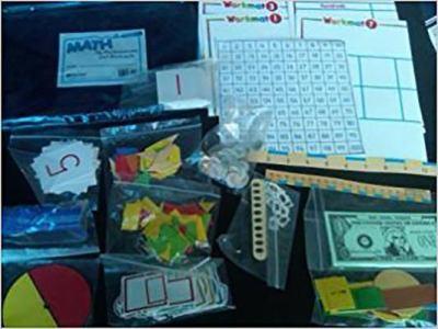 Harcourt School Publishers Math My Manipulatives Workmats