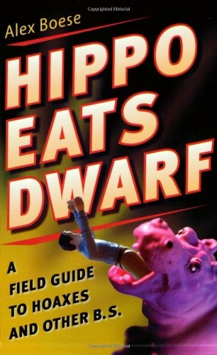 Hippopotamus swallows midget