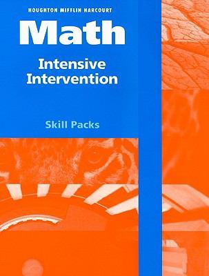 Houghton Mifflin Harcourt Math Intensive Intervention Skill Packs, Grade 6 9780153770364