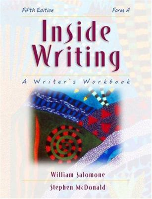 Inside Writing: A Writer's Workbook (Form A) 9780155042681