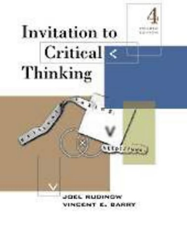 Invitation to Critical Thinking 9780155055629