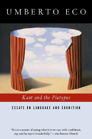 Kant and the Platypus: Essays on Language and Cognition 9780156011594