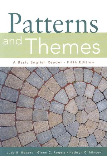 Patterns and Themes: A Basic English Reader [With Infotrac] - 5th Edition