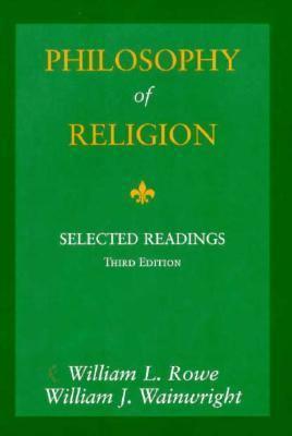 Philosophy of Religion 9780155036871