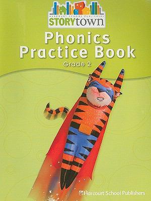 Phonics Practice Book, Grade 2 9780153587399
