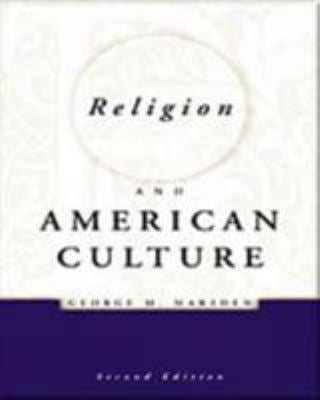 Religion and American Culture 9780155055322