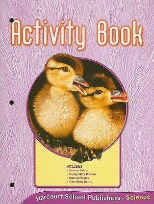 Science Activity Book, Grade K 9780153432941