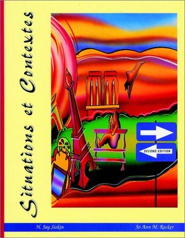 Situations Et Contextes 9780155005921
