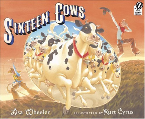 Sixteen Cows 9780152055929