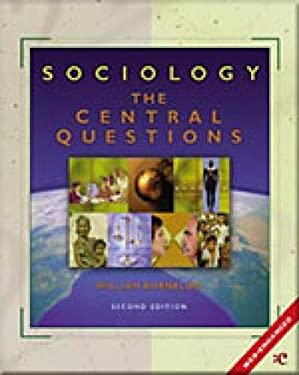 Sociology: The Central Questions 9780155085626