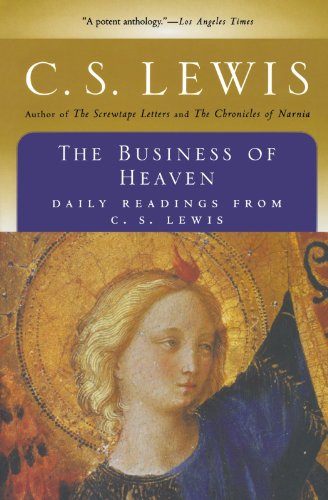 The Business of Heaven: Daily Readings from C. S. Lewis 9780156148634