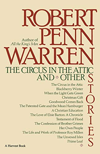 The Circus in the Attic: And Other Stories 9780156180023