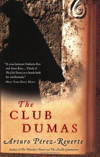 The Club Dumas 9780156032834