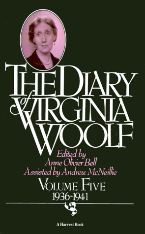 The Diary of Virginia Woolf: Volume Five, 1936-1941 9780156260404