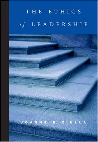 The Ethics of Leadership 9780155063174
