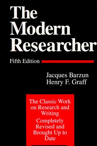The Modern Researcher 9780155625136