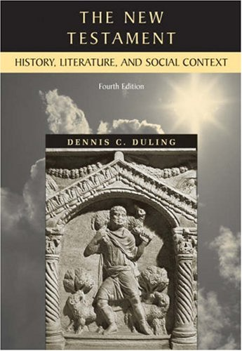 The New Testament: History, Literature, and Social Context 9780155078567