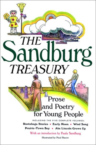The Sandburg Treasury: Prose and Poetry for Young People 9780152026783