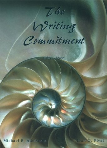 The Writing Commitment 9780155001671