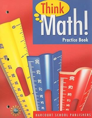 Think Math! Practice Book, Grade 4 9780153424960
