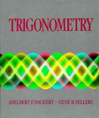 Trigonometry 9780155923560