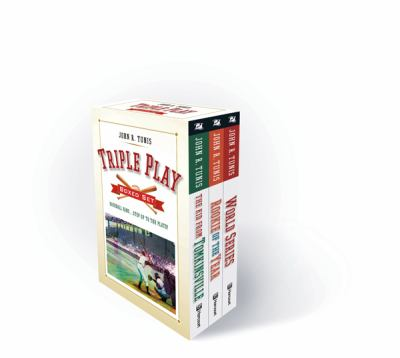 Triple Play Boxed Set: Rookie of the Year/World Series/The Kid from Tomkinsville 9780152063672