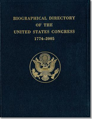 Biographical Directory of the United States Congress, 1774-2005 9780160731761