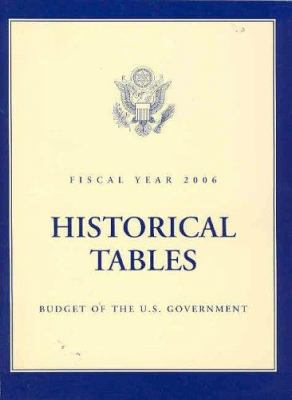 Budget of the United States Government, Fiscal Year 2006: Historical Tables 9780160724053