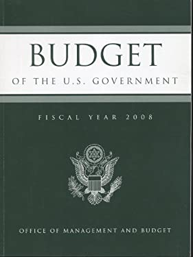 Budget of the United States Government Fiscal Year 9780160775086