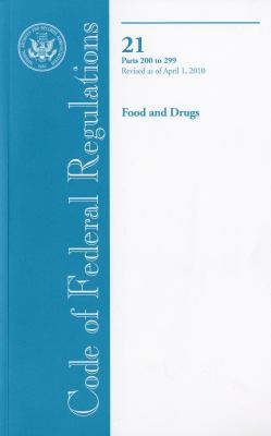 Food and Drugs 9780160853807
