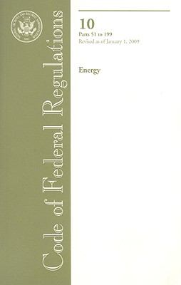 Energy, Parts 51 to 199 9780160822537