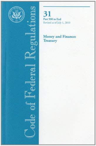 Money and Finance: Treasury 9780160860034