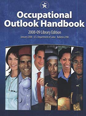Occupational Outlook Handbook 2008-2009 (Hardcover) 9780160785887