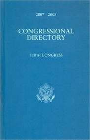 Official Congressional Directory, 2007-2008: 110th Congress, Convened January 4, 2007 (Hardcover) 9780160788789