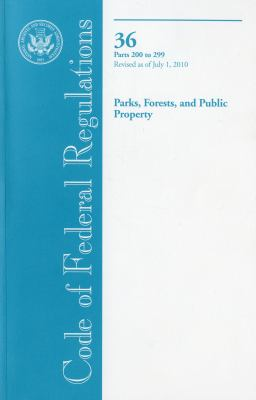 Parks, Forests, and Public Property 9780160860171