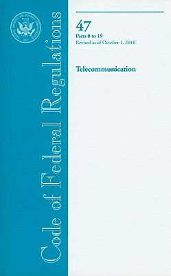 Telecommunication, Parts 0 to 19 9780160864872