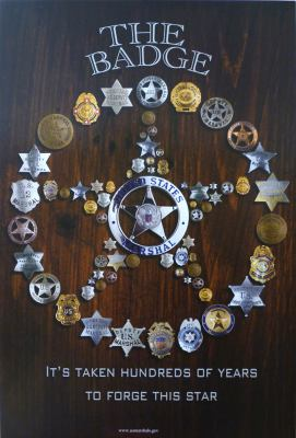The Badge: It's Taken Hundreds of Years to Forge This Star (Poster) 9780160847424