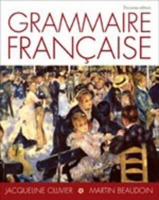 Grammaire Frangaise - 3rd Edition