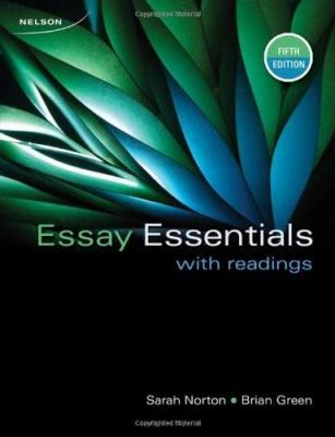 CDN ED Essay Essentials With Readings 9780176501877