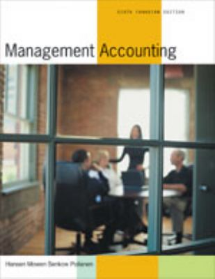 Management Accounting, 6th Canadian edition 9780176224646