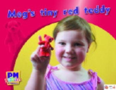 Meg's Tiny Red Teddy PM Photo Stories Magenta Levels 2-3